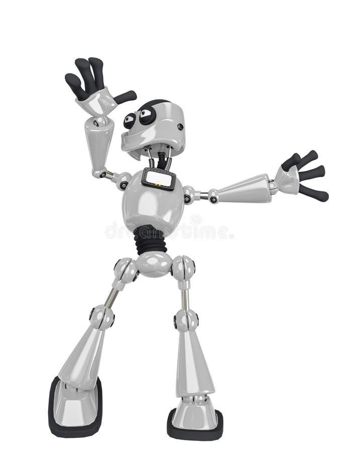 Free Robot Cartoon Dancing Royalty Free Stock Images - 160873209