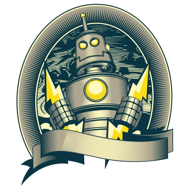 Robot classico royalty illustrazione gratis