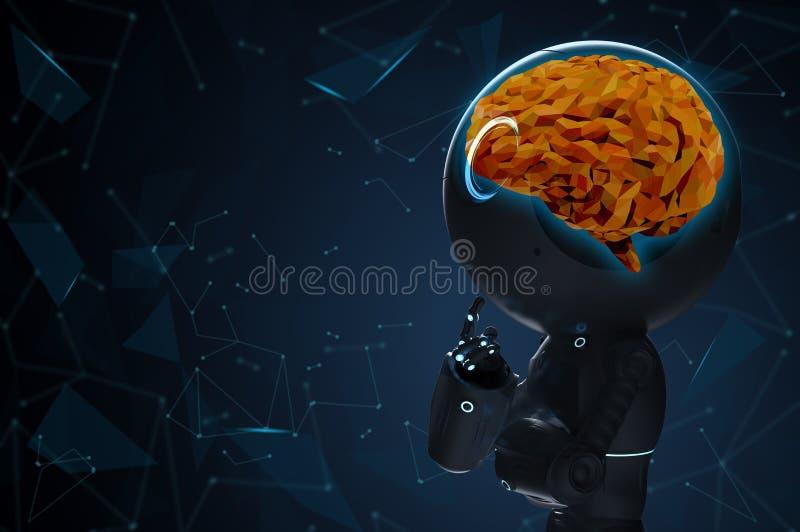 Robot con el cerebro del ai