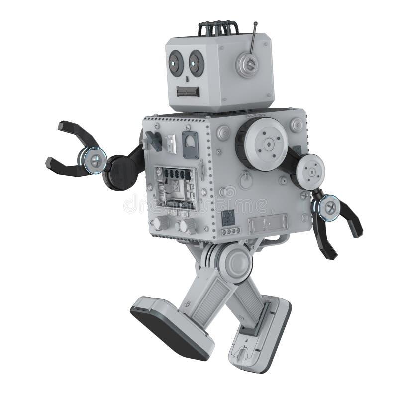 Robot cyny zabawka royalty ilustracja
