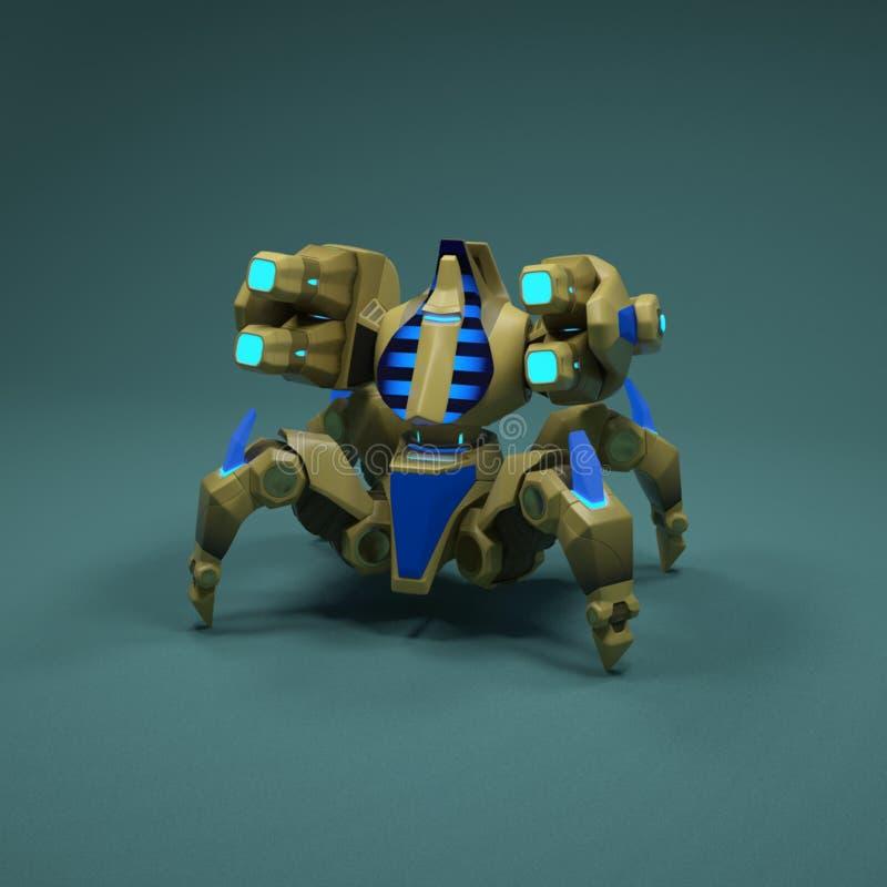 robot 3 d zdjęcie stock