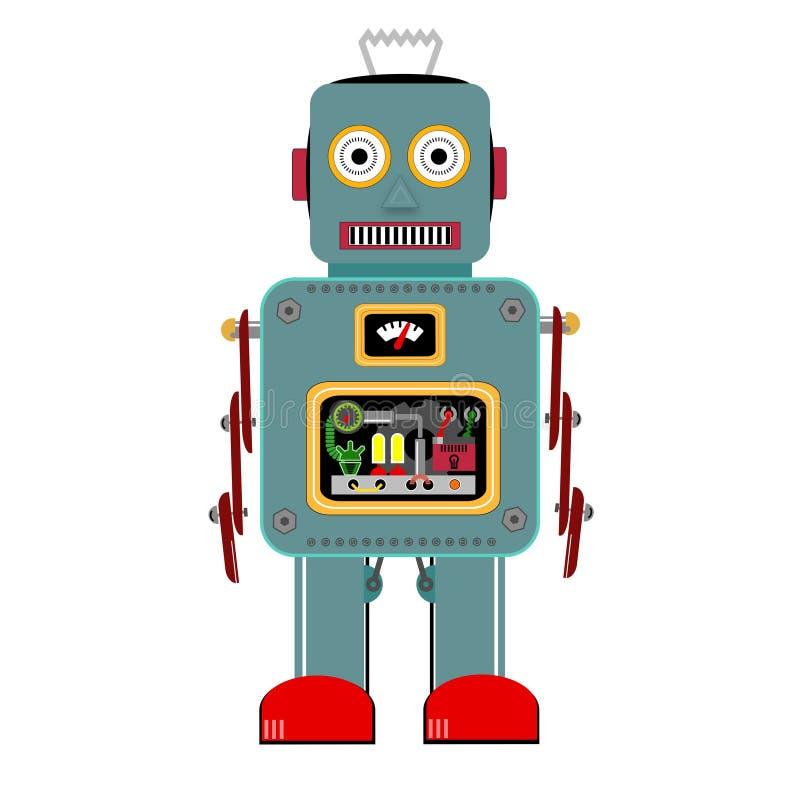 Robot d'annata fotografia stock