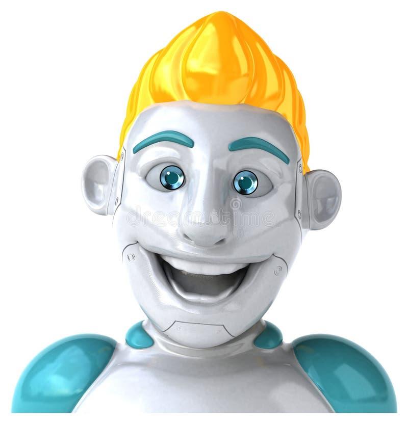Robot - 3D Illustratie vector illustratie