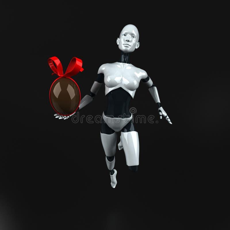 Robot - 3D Illustration vector illustration