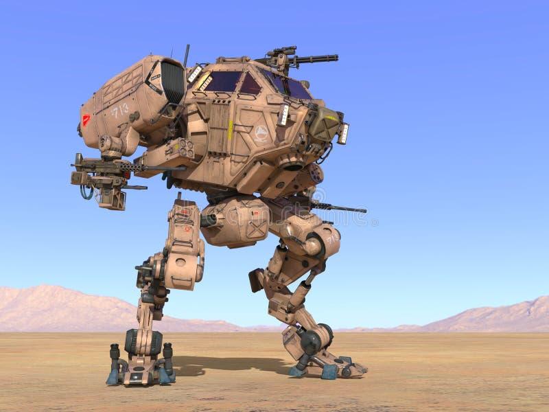 Robot de bataille photos stock