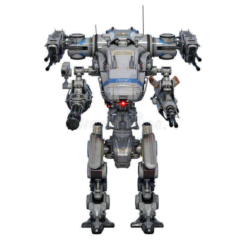 Robot de bataille illustration de vecteur