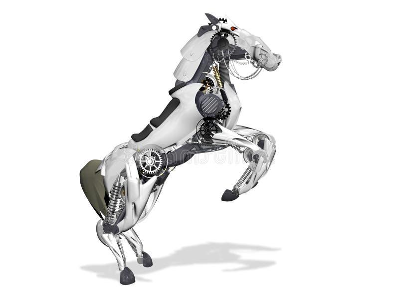 Robot de cheval illustration stock