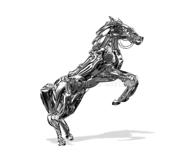 Robot de cheval illustration libre de droits
