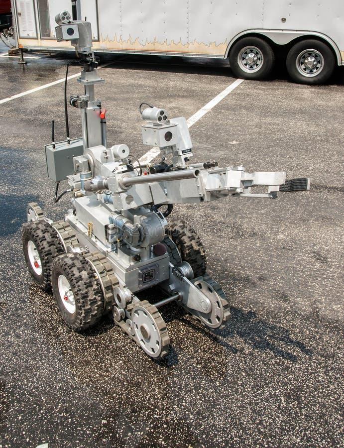 Robot de déminage photos stock