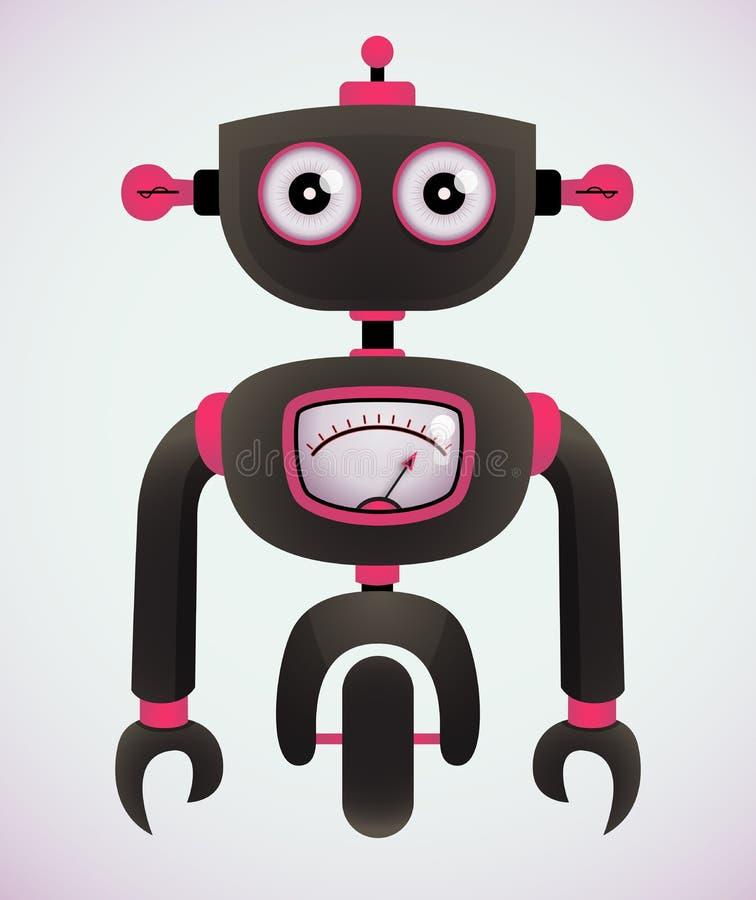 Robot de dessin animé illustration de vecteur