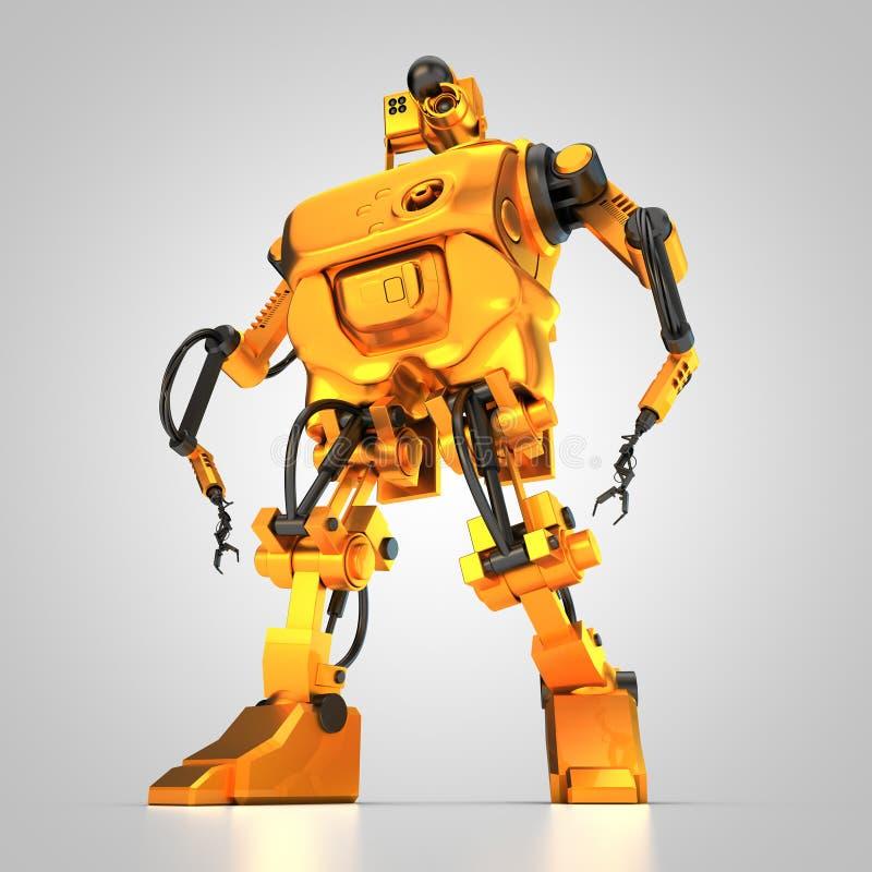 Robot de humanoïde illustration de vecteur