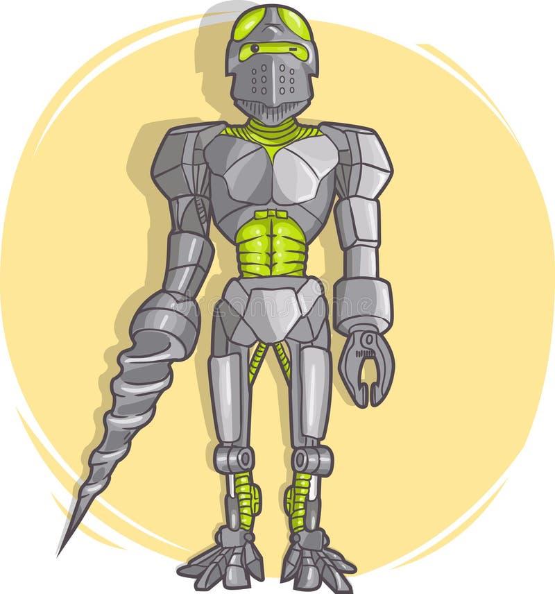 Robot de la historieta del vector libre illustration