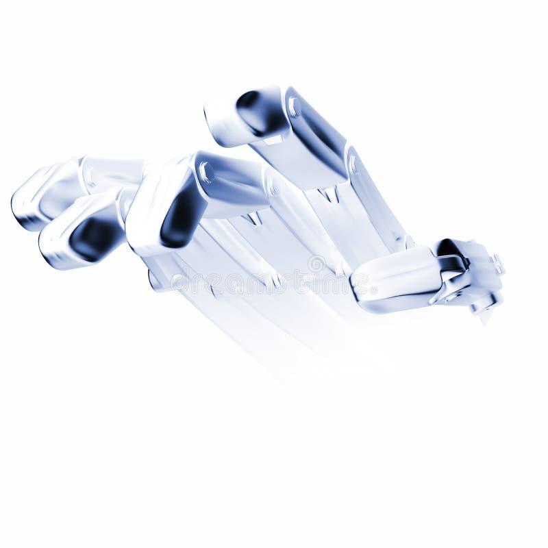 Robot de main illustration stock