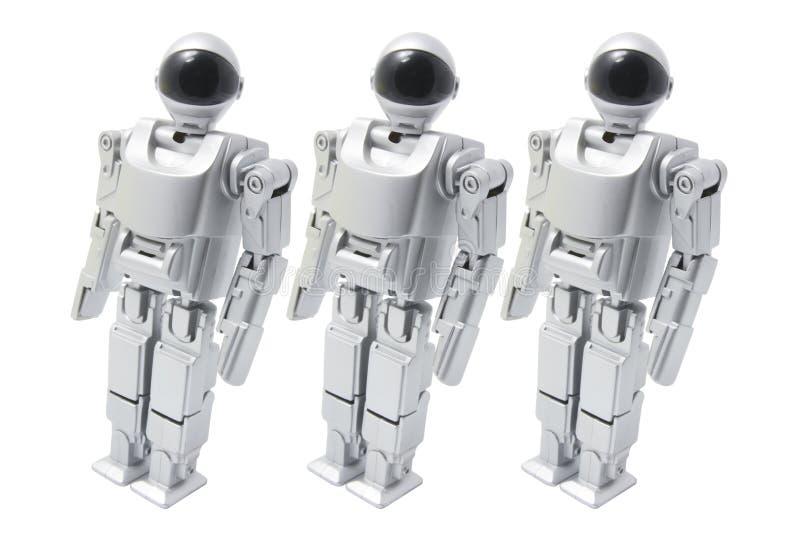 Robot de marche de jouet images libres de droits