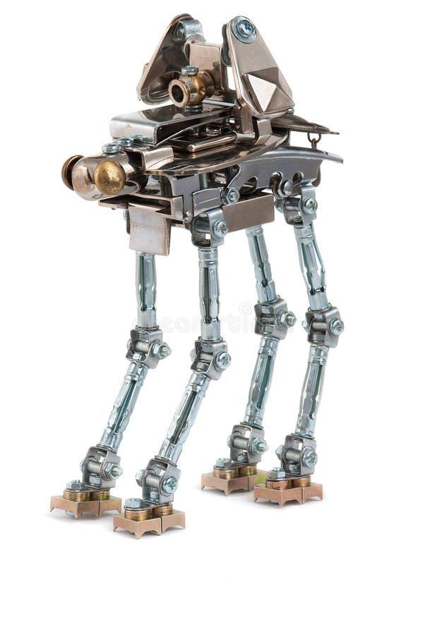 Robot de Steampunk ilustración del vector