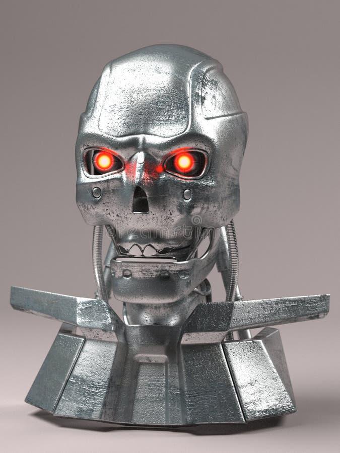 Robot de tueur illustration libre de droits