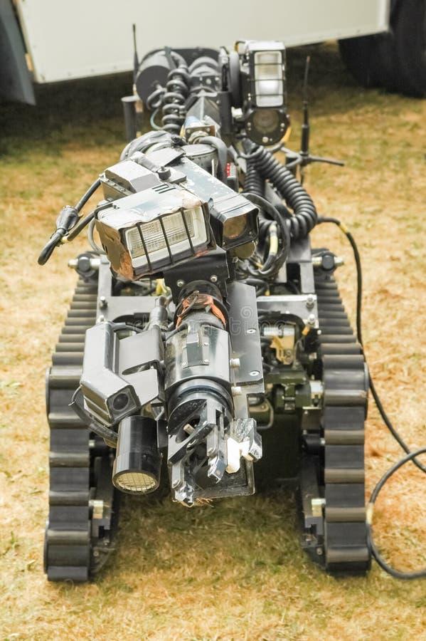 Robot di smaltimento di bombe fotografia stock libera da diritti