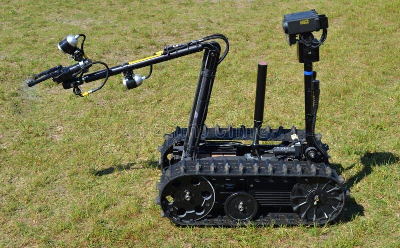 Robot di smaltimento di bombe fotografie stock