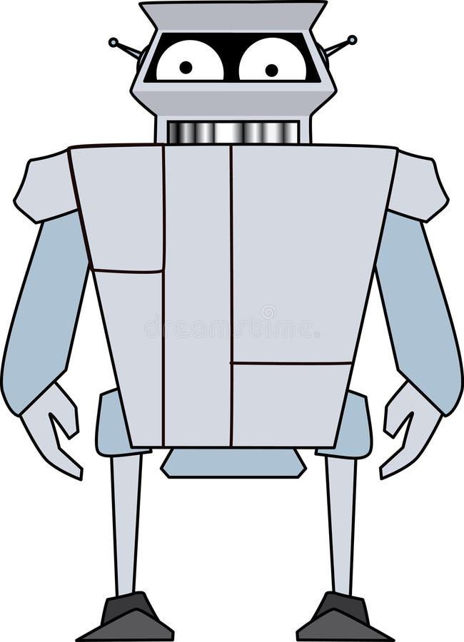 Robot droid stock illustration