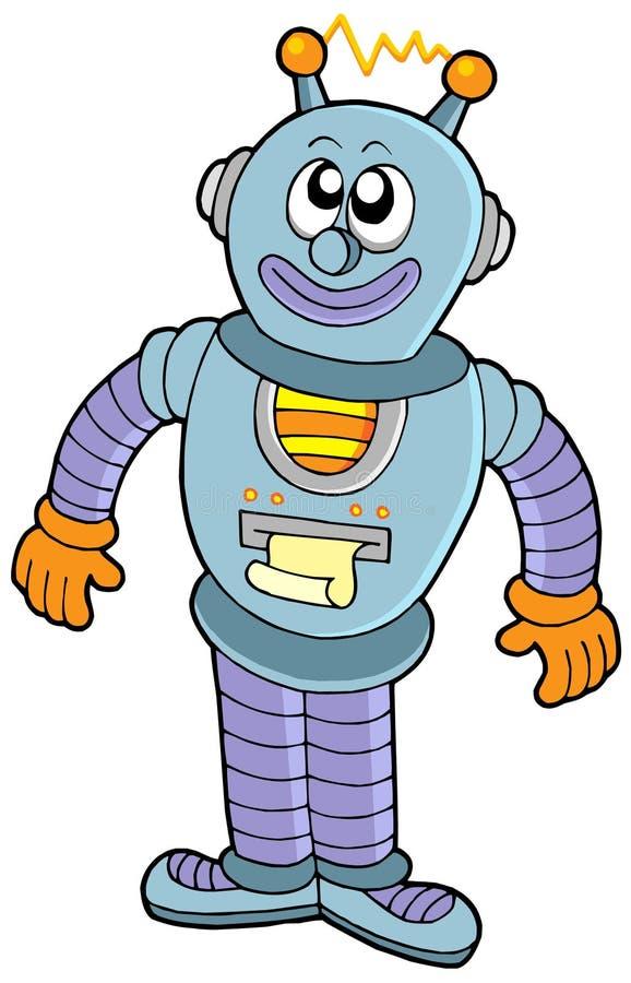 Robot felice illustrazione vettoriale