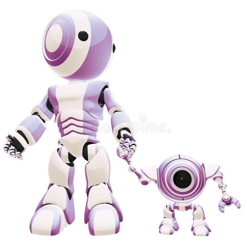 Robot Generations Royalty Free Stock Photo