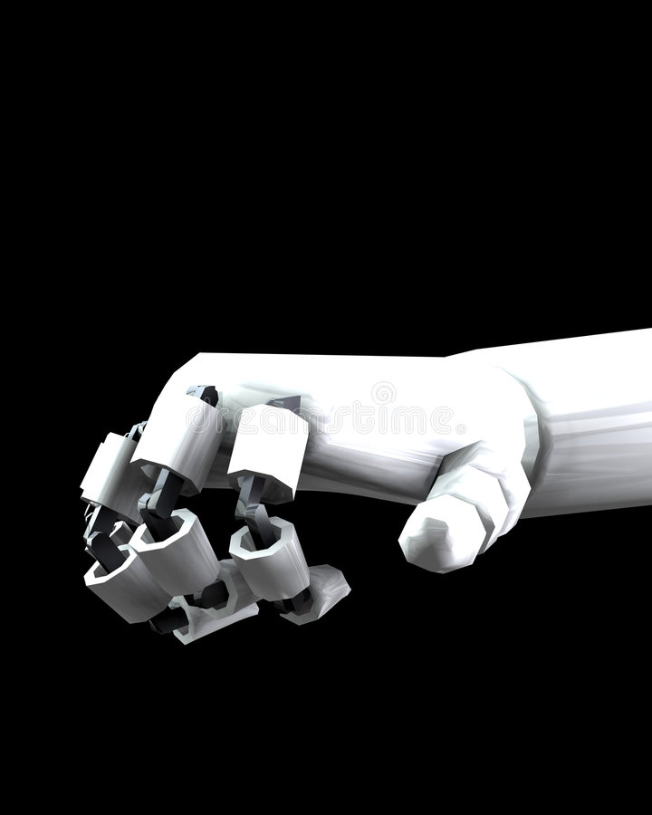 Robot Hand 4 Royalty Free Stock Images