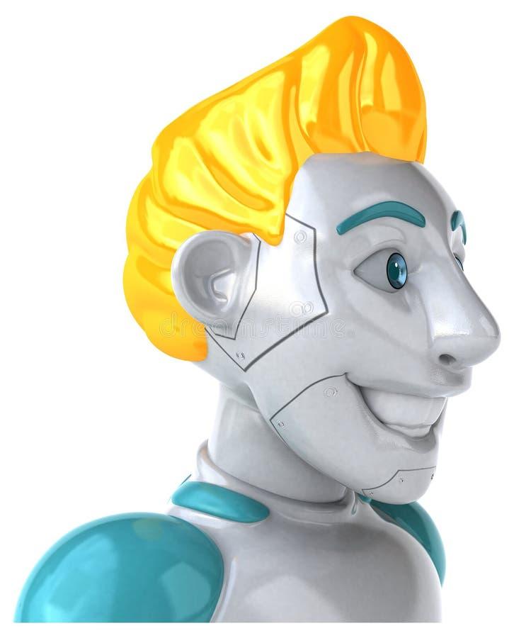 Robot - illustration 3D illustration de vecteur
