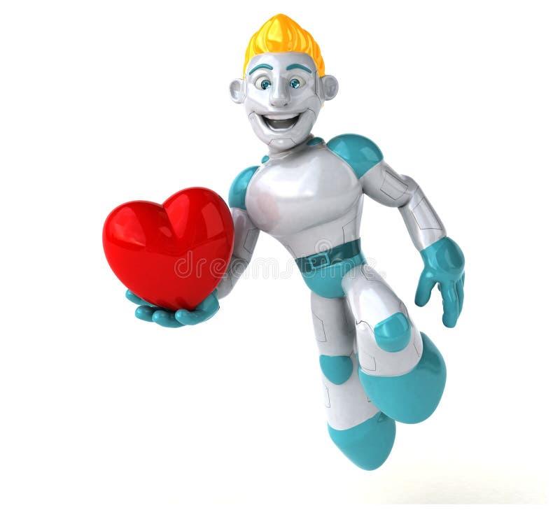 Robot - illustration 3D illustration libre de droits