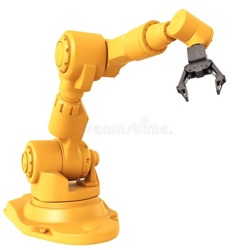 Robot industriel illustration de vecteur