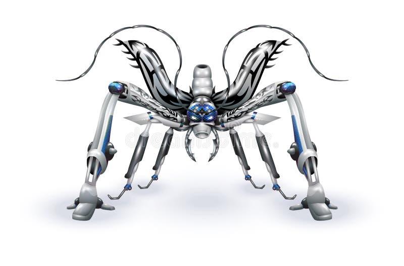 Robot-insetto royalty illustrazione gratis