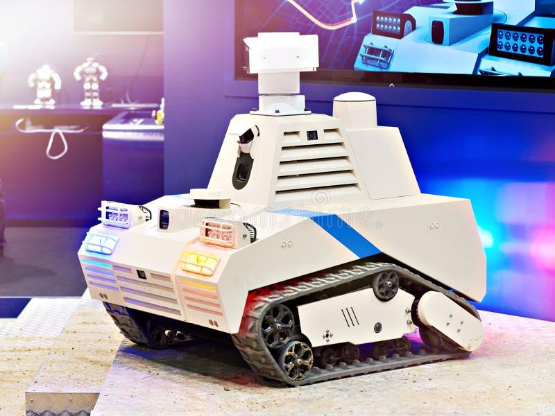 Robot inteligente de la patrulla