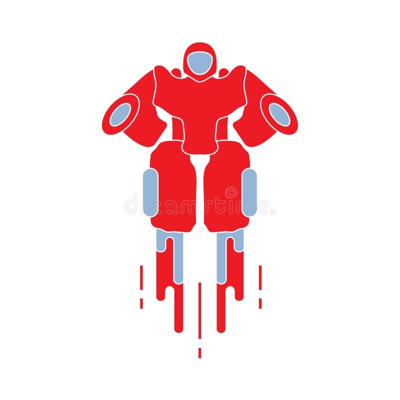 robot Jouets pour l'illustration de children Robotique, technologies illustration de vecteur