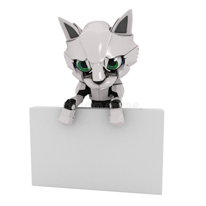 Download Robot Kitten, Sign Stock Photos - Image: 8834843