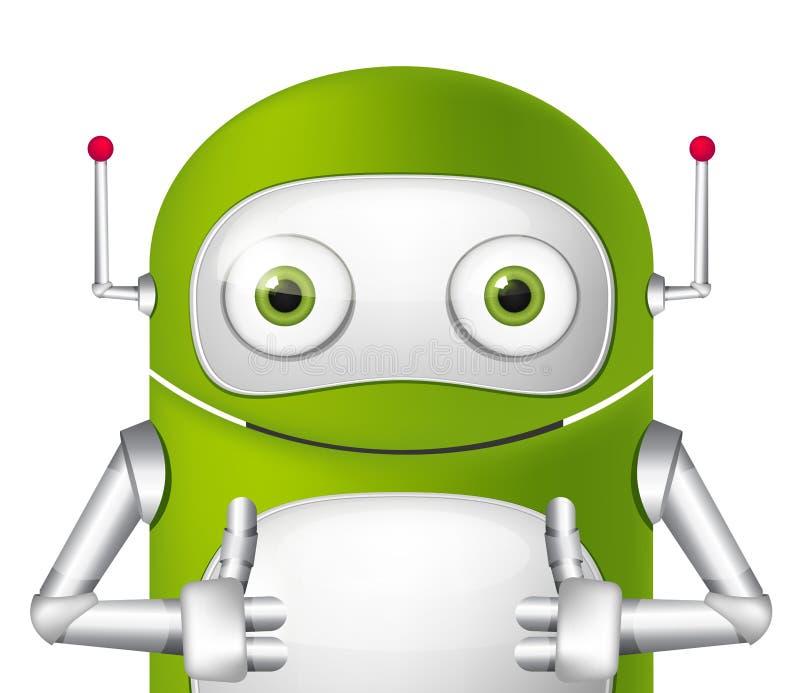 Robot lindo ilustración del vector