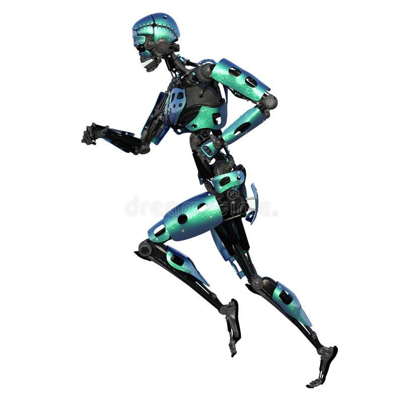 Robot mâle illustration stock