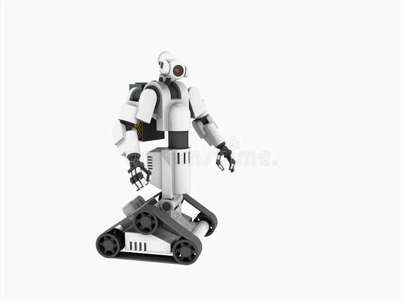 Robot médical illustration de vecteur