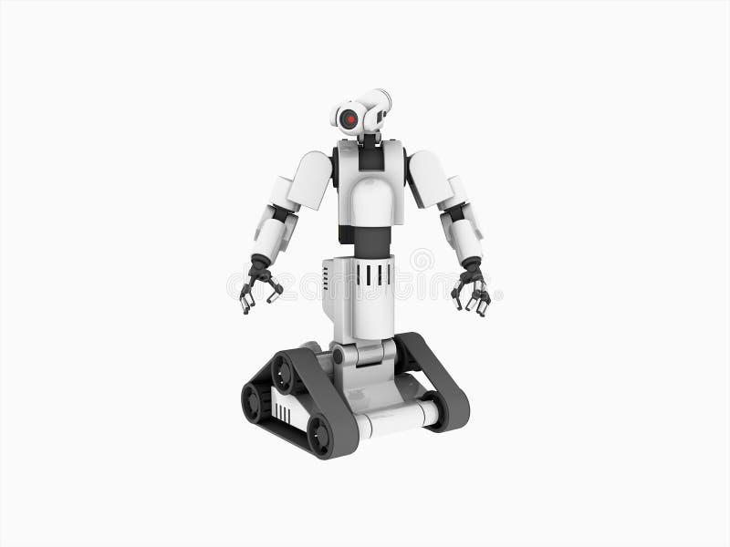 Robot médical illustration libre de droits