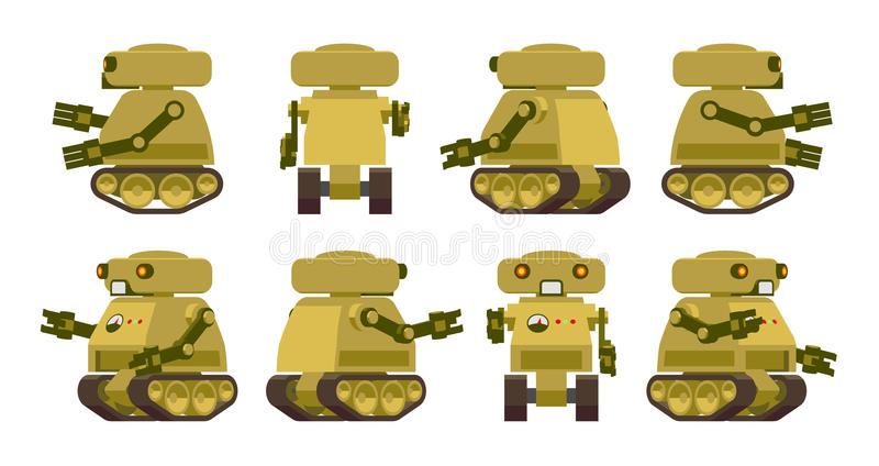 Robot militar libre illustration