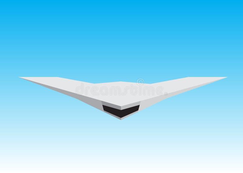 Robot plane. vector illustration