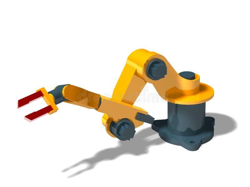 Robot (posa 1) illustrazione di stock