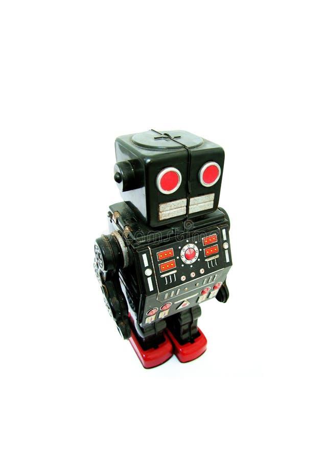 robot retro obraz royalty free