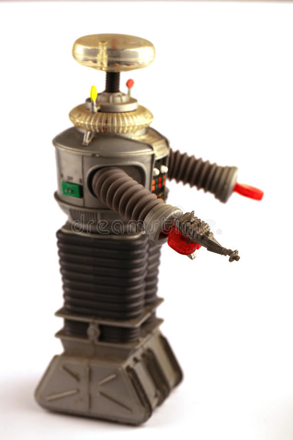 robot retro zdjęcia stock