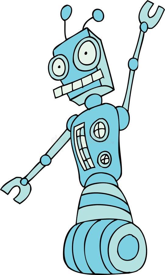 Download Robot Rolling stock vector. Image of element, robotic - 9437375