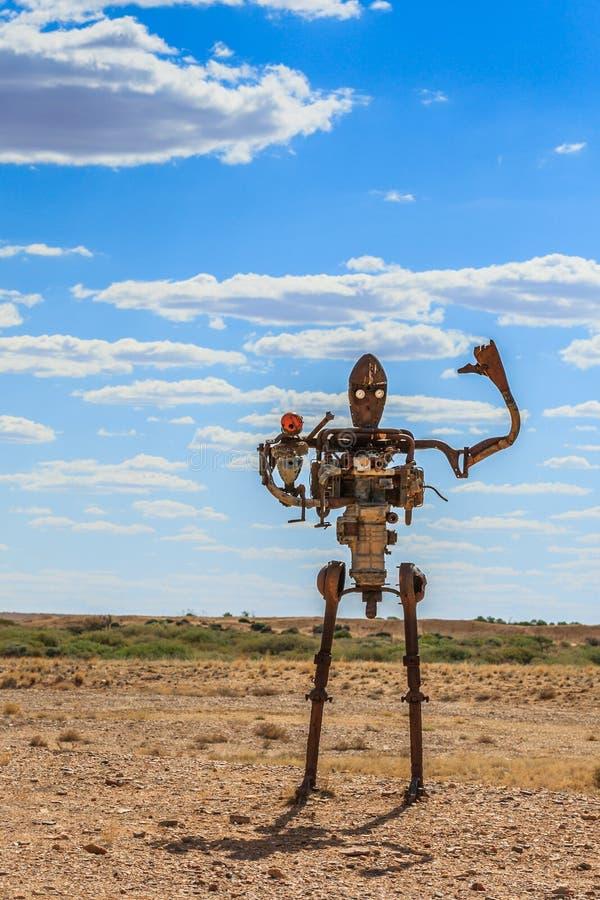 Free Robot Sculpture, Mutonia Sculpture Park, South Australia Stock Photos - 188913793
