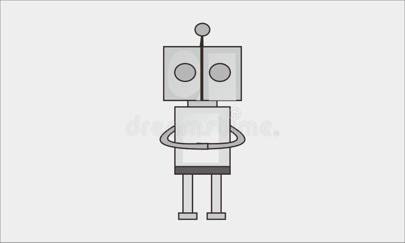 Robot simple photographie stock libre de droits