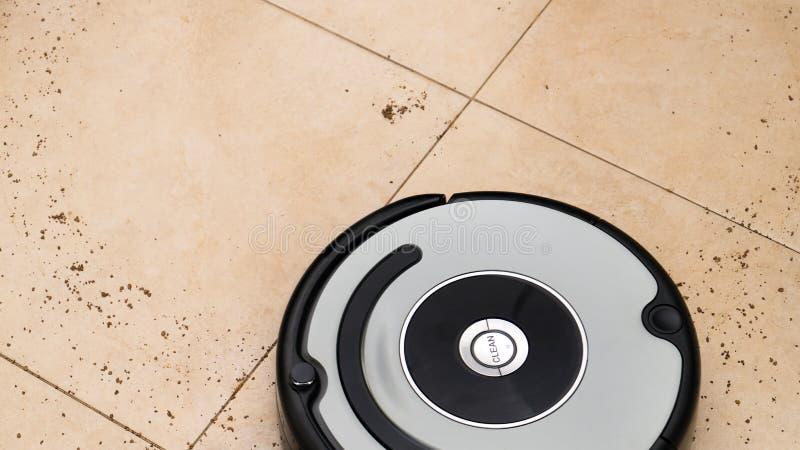 Robot stofzuiger stock foto's