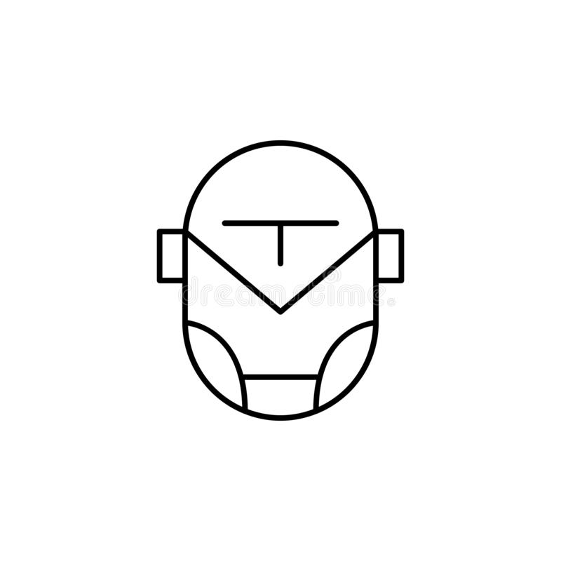 Cartoon Illustration Of Cute Iron Man  Stock Vector - Illustration