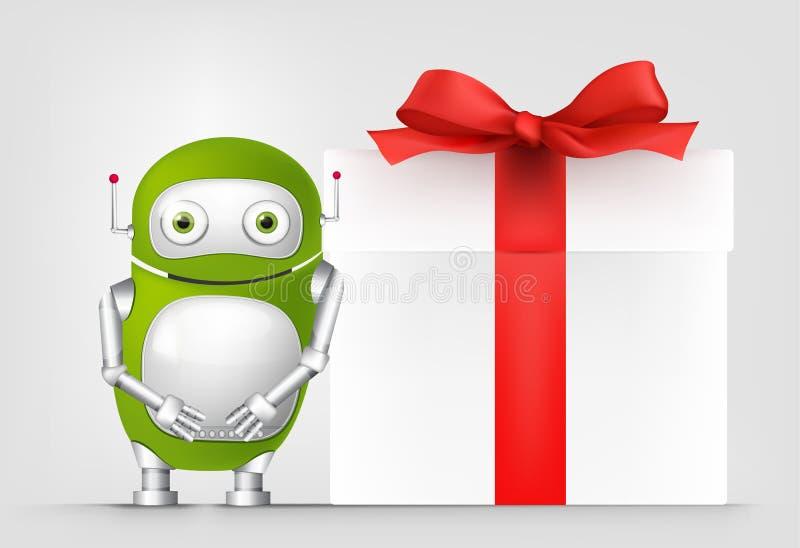 Robot verde libre illustration