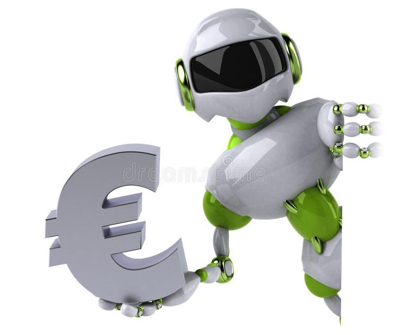 Robot verde - ejemplo 3D libre illustration