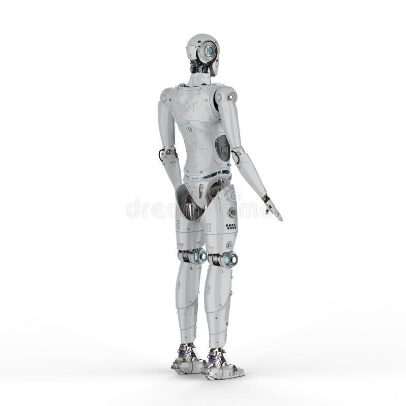 Robot volledig lichaam stock illustratie